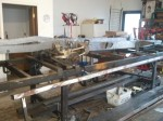 Frame Rails on the Chassis Jig