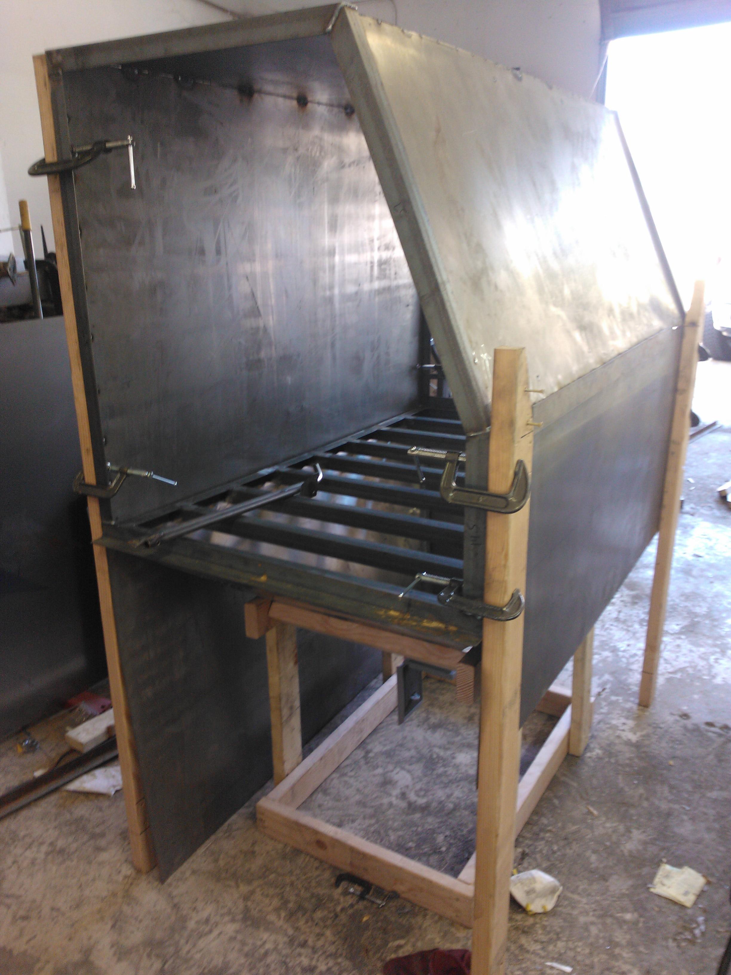 building the sand blast cabinet codeblooded. Black Bedroom Furniture Sets. Home Design Ideas